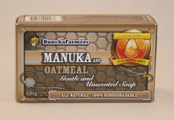 BunchaFarmers Manuka Honey Soap ~ Honey & Oatmeal