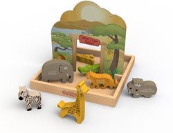 Begin Again Toys What I Like Safari Story Box