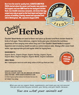 Scratch & Peck Feeds Cluckin' Good Organic Herbs 10oz