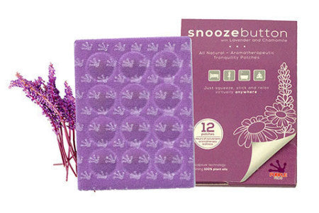 Purple Frog Snooze Button Patches Lavender/Chamomile 12ct