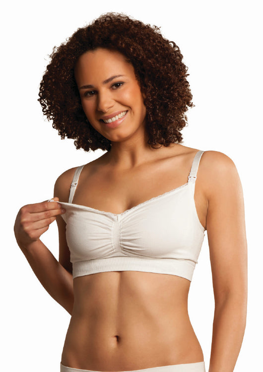 Carriwell Seamless Organic Cotton Nursing Bra