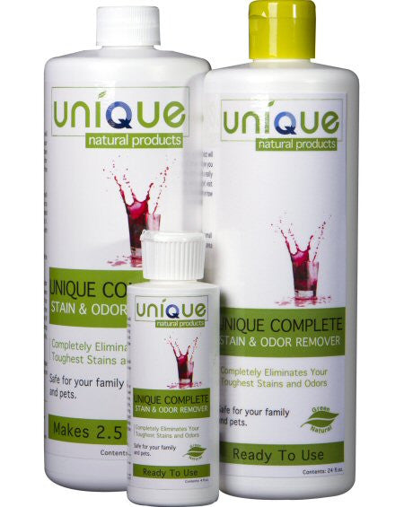 Unique Natural Products Complete Stain & Odor Remover ~ Ready to Use