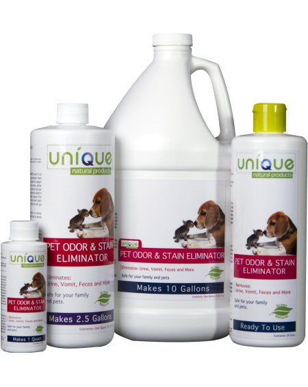 Unique Natural Products Pet Odor & Stain Eliminator ~ Concentrate