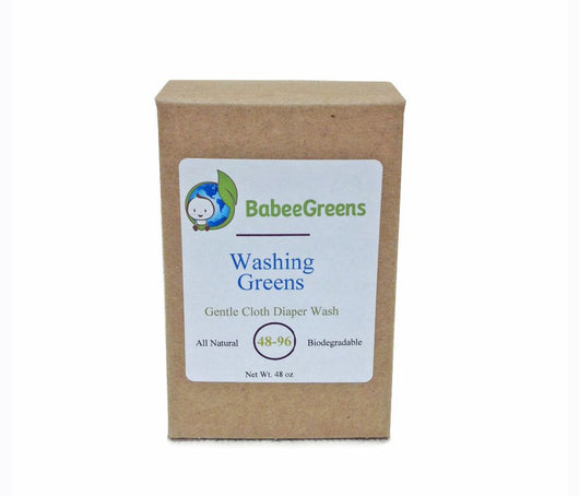 Babee Greens Washing Greens Diaper Wash 48oz