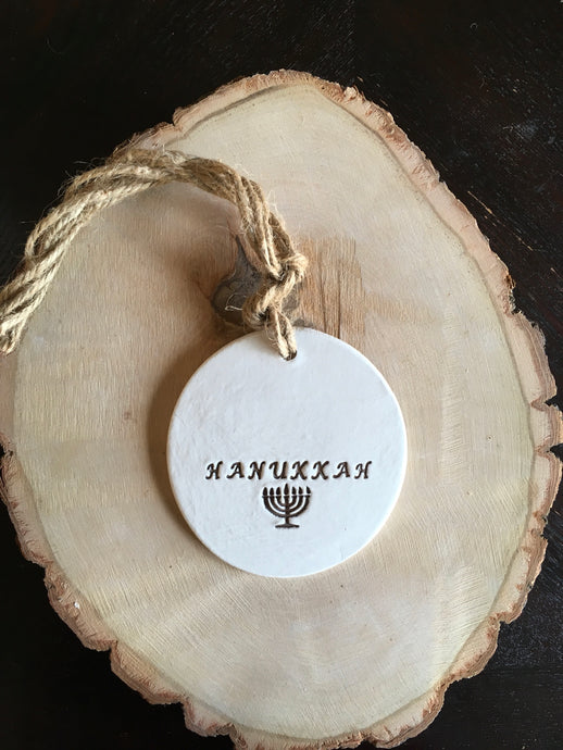 Round Feast Day Collection ~Hanukkah Décor-Wall Hanging