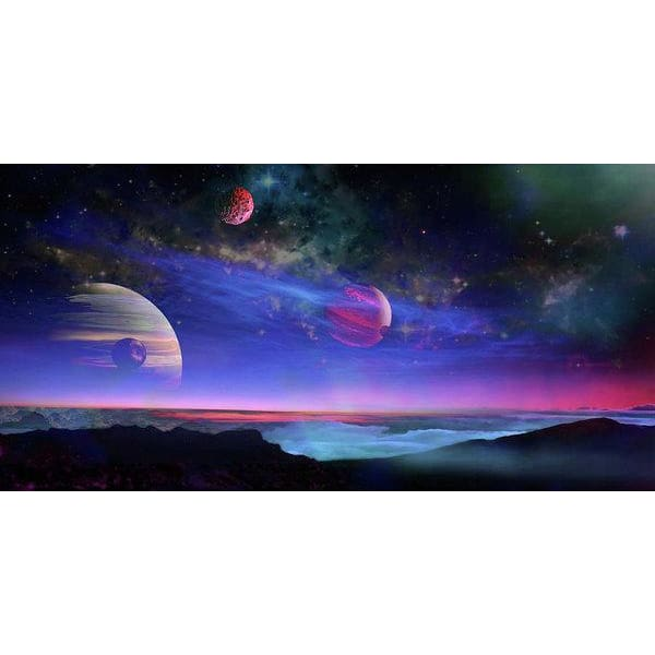 A View Of Jupiter - Art Print by Don White - Art Dreamer
