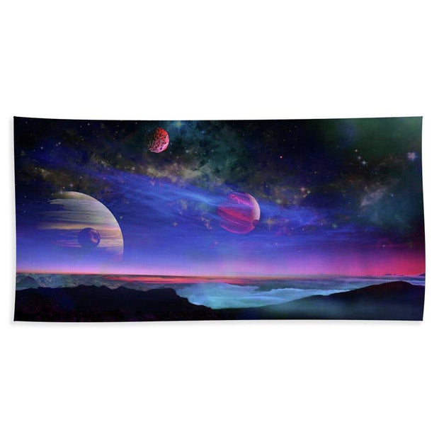 A View Of Jupiter - Beach Towel by Don White - Art Dreamer