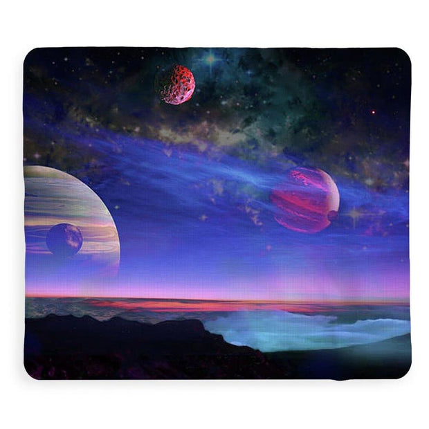 A View Of Jupiter - Blanket by Don White - Art Dreamer