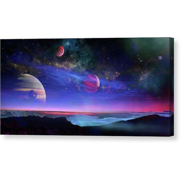 A View Of Jupiter - Canvas Print by Don White - Art Dreamer
