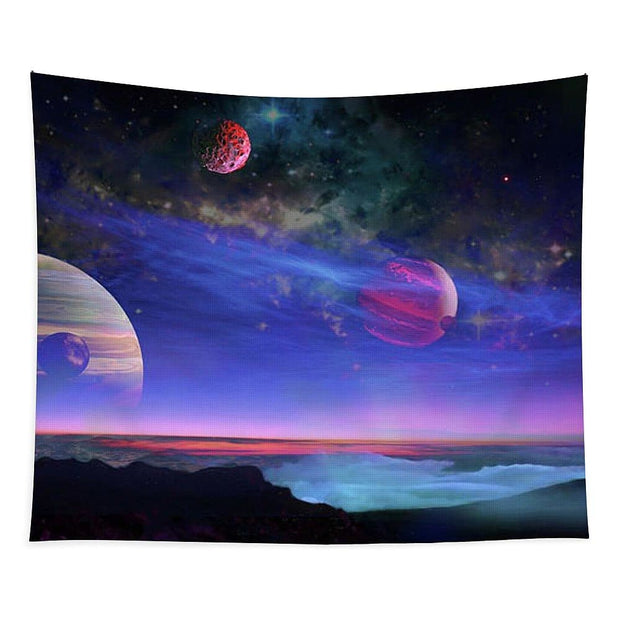 A View Of Jupiter - Tapestry by Don White - Art Dreamer