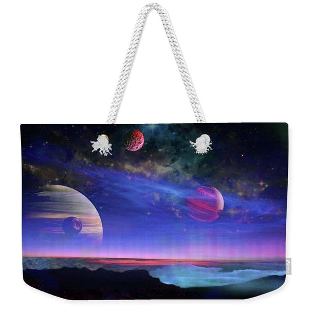 A View Of Jupiter - Weekender Tote Bag by Don White - Art Dreamer