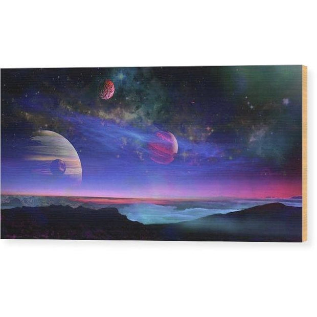 A View Of Jupiter - Wood Print by Don White - Art Dreamer
