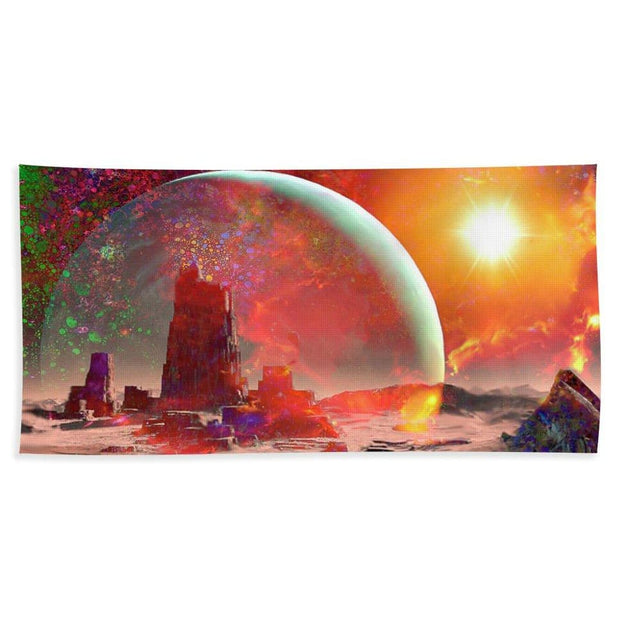 Abandoned Outpost - Beach Towel by Don White - Art Dreamer