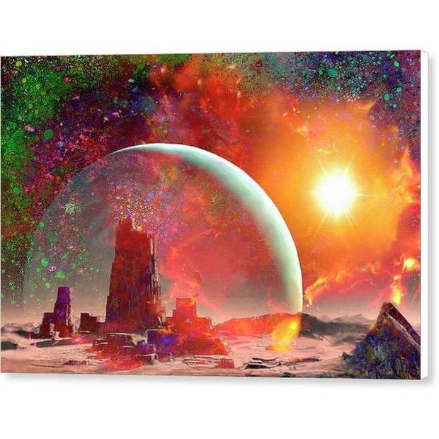 Abandoned Outpost - Canvas Print by Don White - Art Dreamer
