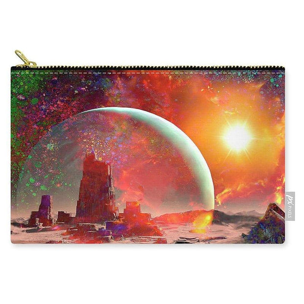 Abandoned Outpost - Carry-All Pouch by Don White - Art Dreamer