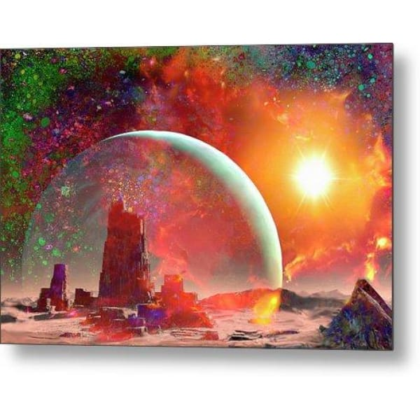 Abandoned Outpost - Metal Print by Don White - Art Dreamer