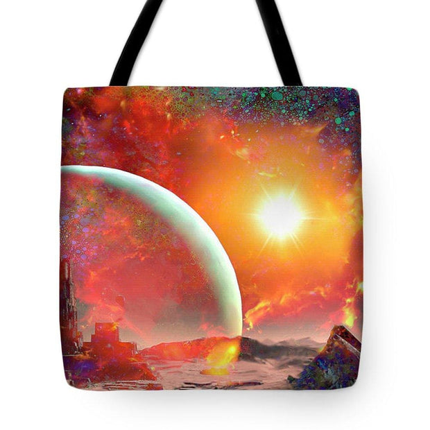 Abandoned Outpost - Tote Bag by Don White - Art Dreamer