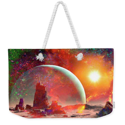Abandoned Outpost - Weekender Tote Bag by Don White - Art Dreamer