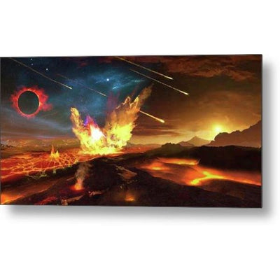 Angry Planet - Metal Print by Don White - Art Dreamer