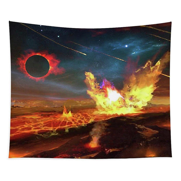 Angry Planet - Tapestry by Don White - Art Dreamer