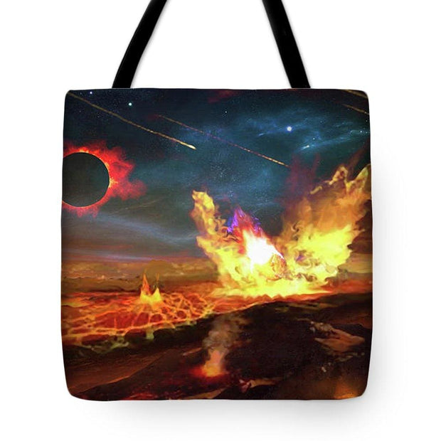 Angry Planet - Tote Bag by Don White - Art Dreamer