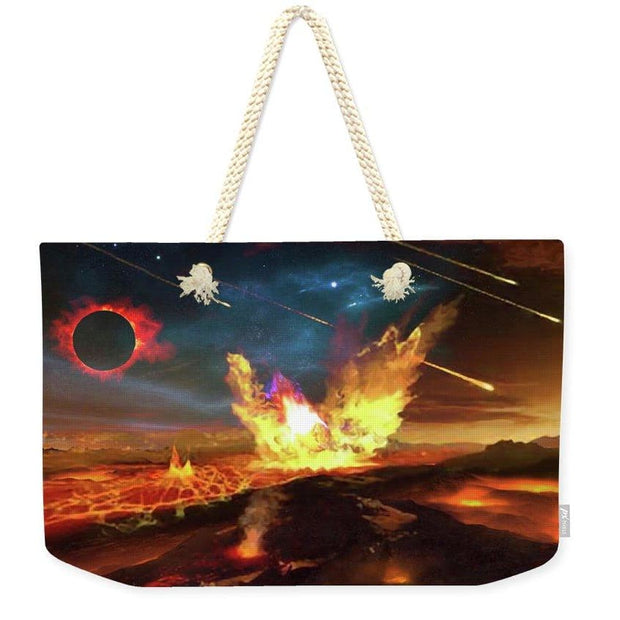 Angry Planet - Weekender Tote Bag by Don White - Art Dreamer