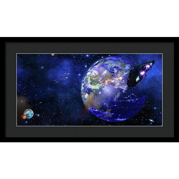 Approach 1 - Framed Print by Don White - Art Dreamer