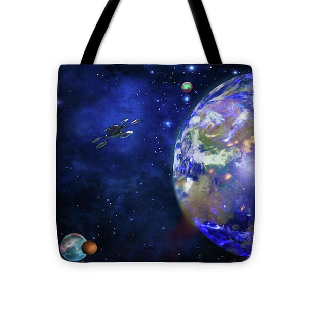 Approach 1 - Tote Bag by Don White - Art Dreamer
