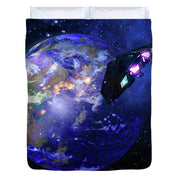 Approach - Duvet Cover by Don White - Art Dreamer