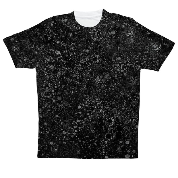 black template Sublimation Performance Adult T-Shirt by Don White - Art Dreamer
