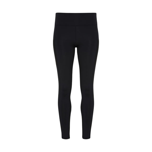 black template Women's Performance Compression Leggings by Don White - Art Dreamer