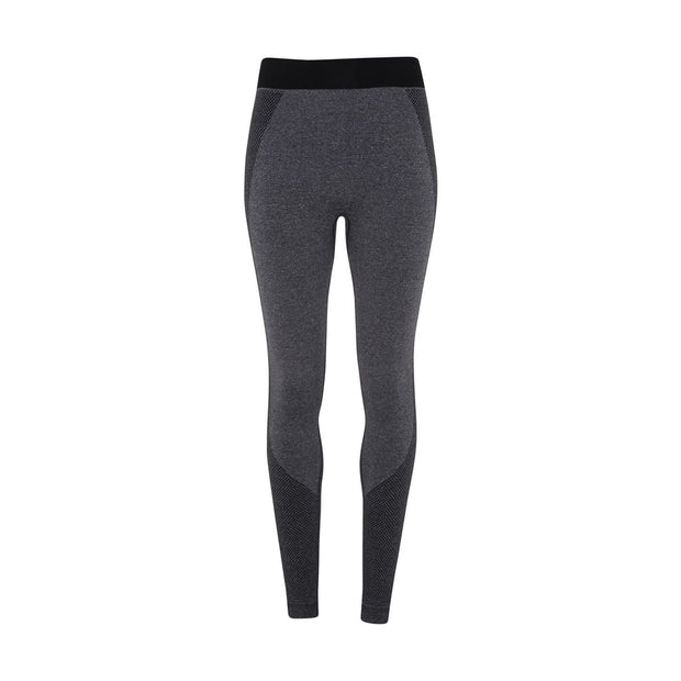 black template Women's Seamless Multi-Sport Sculpt Leggings by Don White - Art Dreamer