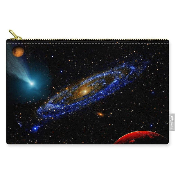 Blue Galaxy - Carry-All Pouch - Medium (9.5 x 6) - Carry-All Pouch
