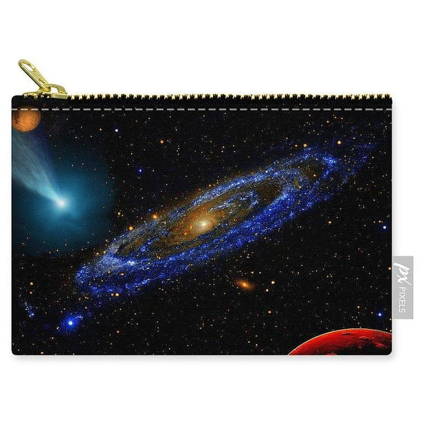 Blue Galaxy - Carry-All Pouch - Small (6 x 4) - Carry-All Pouch