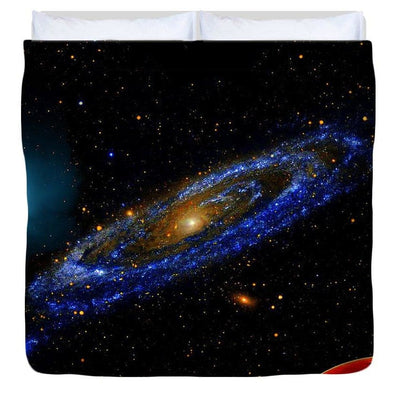 Blue Galaxy - Duvet Cover - King - Duvet Cover