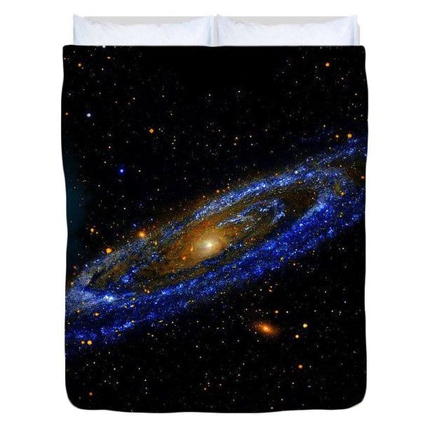 Blue Galaxy - Duvet Cover - Queen - Duvet Cover