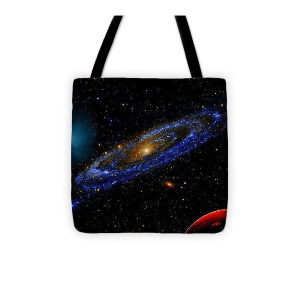 Blue Galaxy - Tote Bag - 13 x 13 - Tote Bag