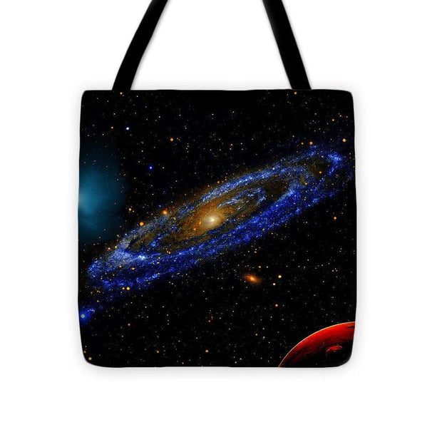 Blue Galaxy - Tote Bag - 16 x 16 - Tote Bag