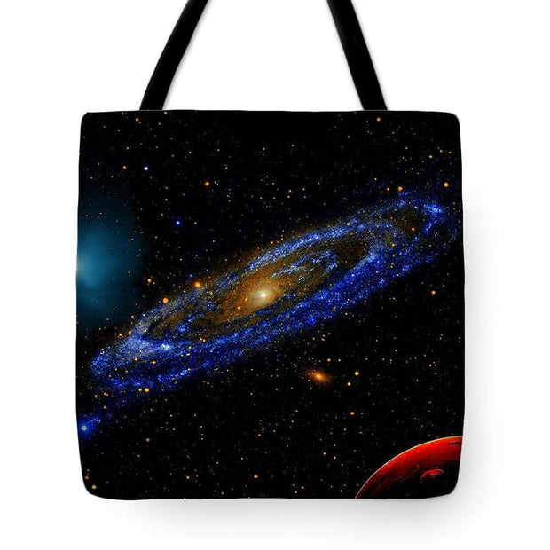 Blue Galaxy - Tote Bag - 18 x 18 - Tote Bag