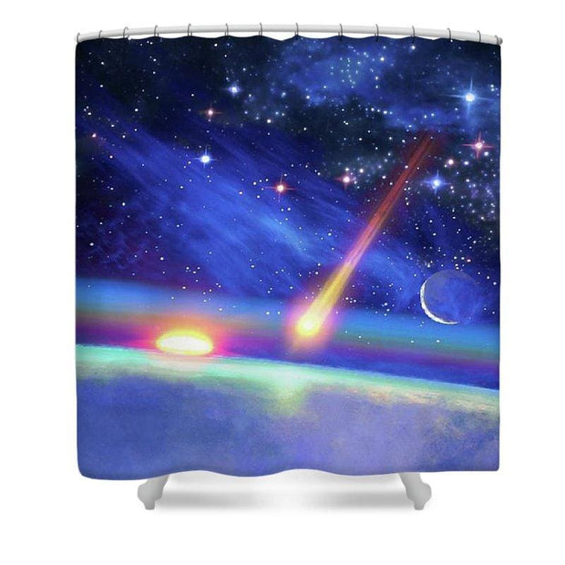 Calm Before The Storm - Shower Curtain by Don White - Art Dreamer