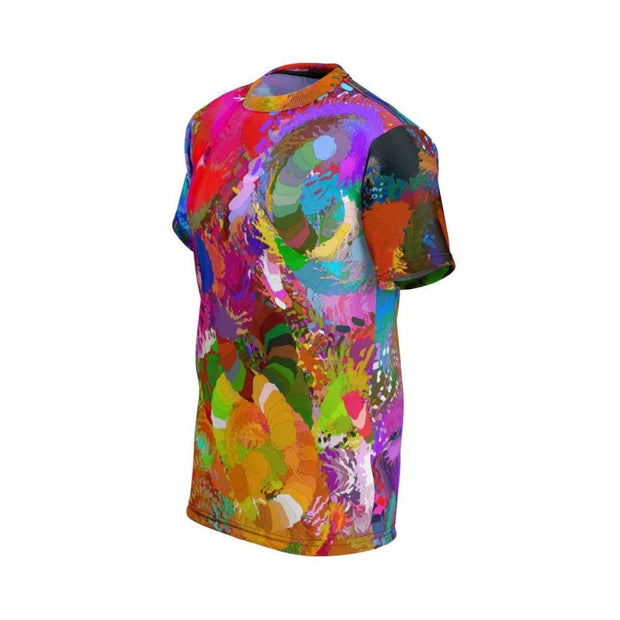 """Chaos of Color""  All Over Printed T-Shirt by Don White - Art Dreamer"