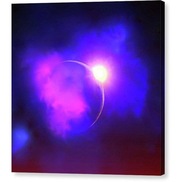 Cloud Moon  - Canvas Print by Don White - Art Dreamer
