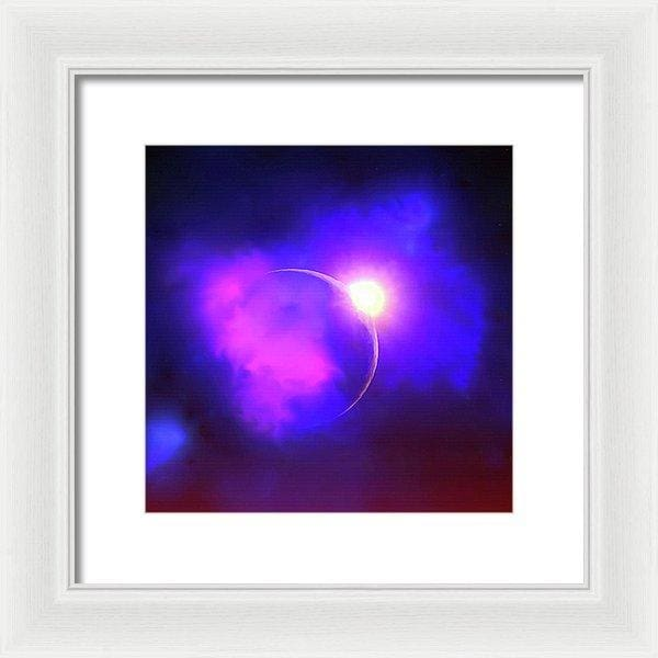 Cloud Moon  - Framed Print by Don White - Art Dreamer