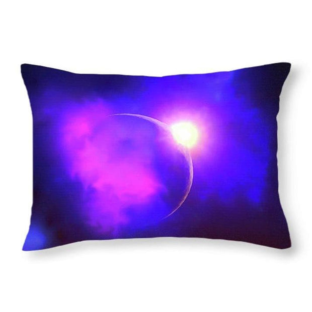 Cloud Moon  - Throw Pillow by Don White - Art Dreamer