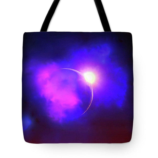 Cloud Moon  - Tote Bag by Don White - Art Dreamer
