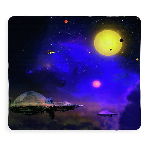 Cloud Stations - Blanket by Don White - Art Dreamer