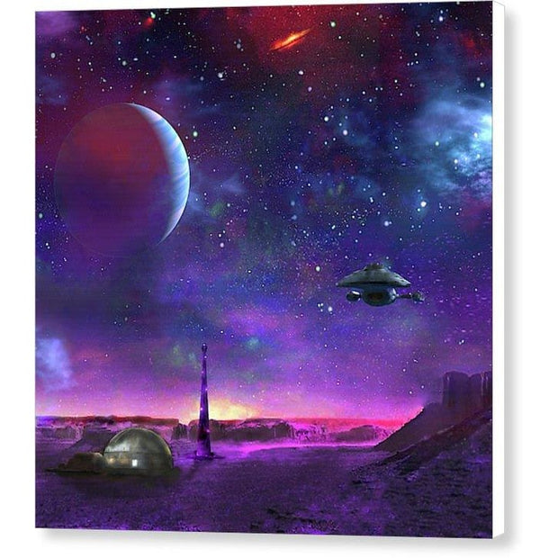 Colony Patrol Services - Canvas Print by Don White - Art Dreamer