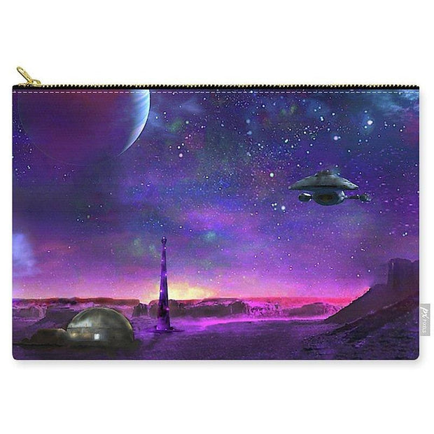 Colony Patrol Services - Carry-All Pouch by Don White - Art Dreamer