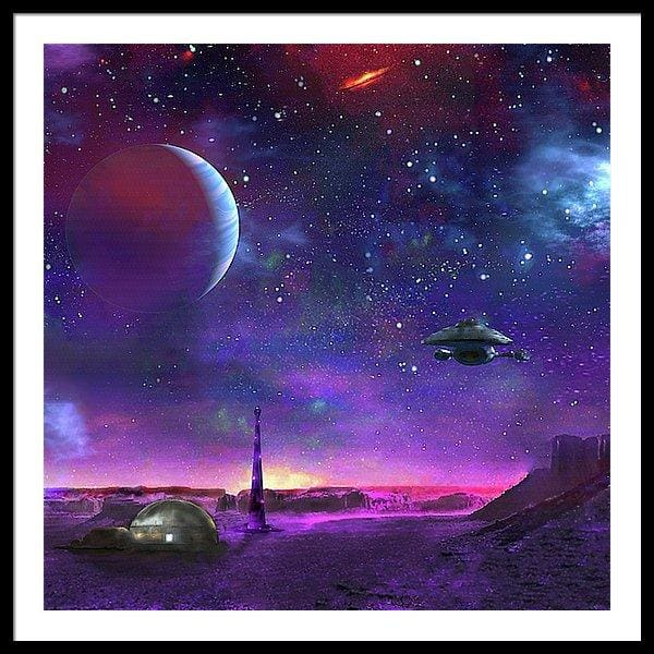 Colony Patrol Services - Framed Print by Don White - Art Dreamer