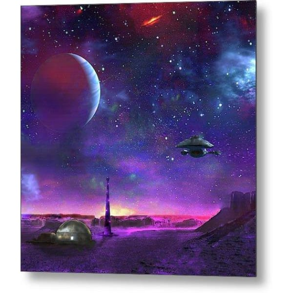 Colony Patrol Services - Metal Print by Don White - Art Dreamer